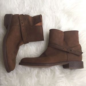 Madewell biker ankle boots